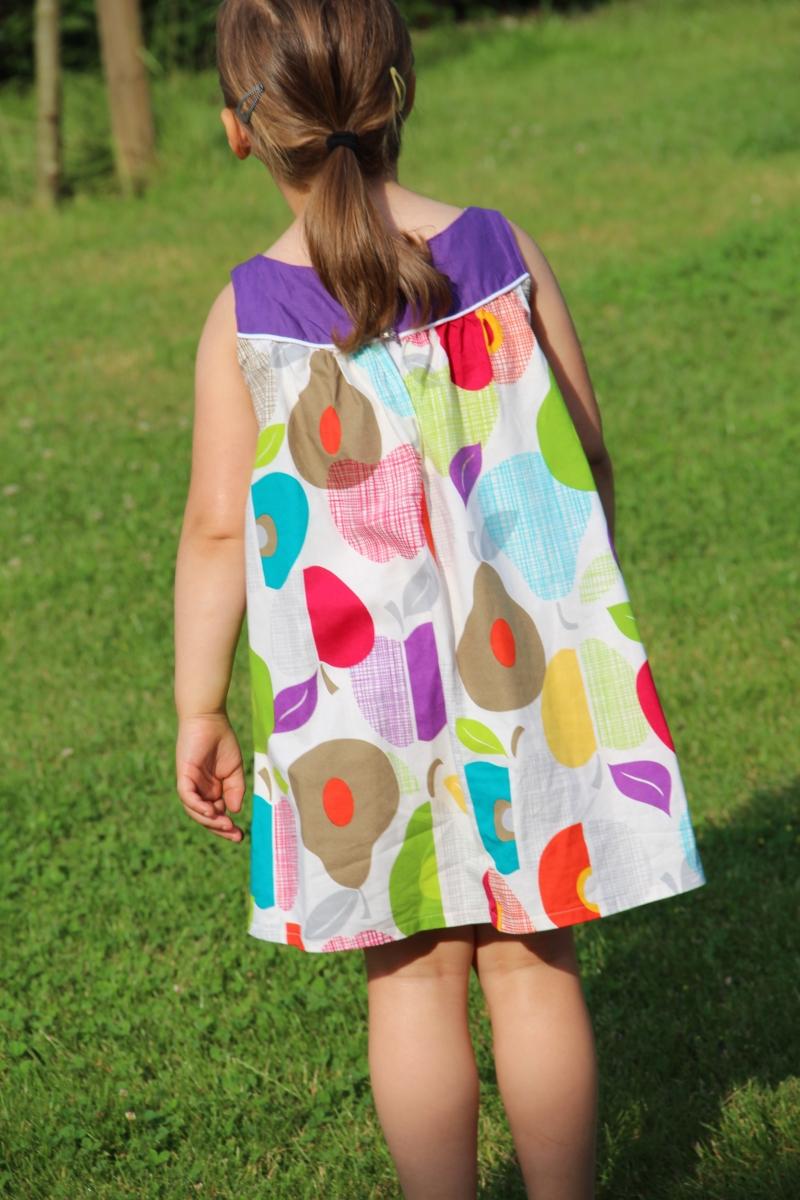 Burda-Kleid Hinten