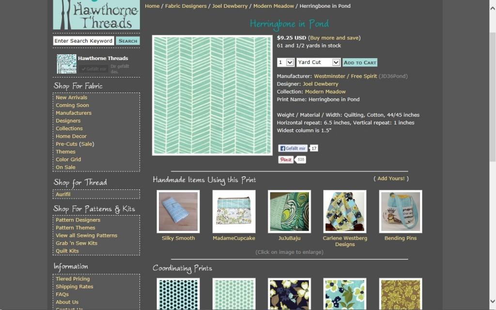 Hardcopy Hawthorne Threads