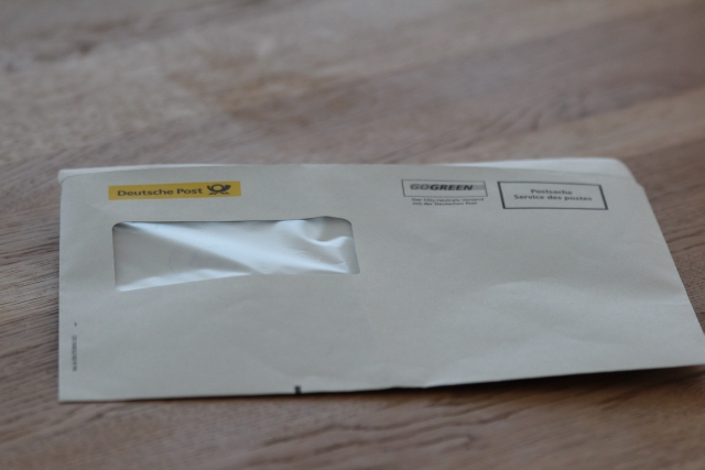 Umschlag Zoll