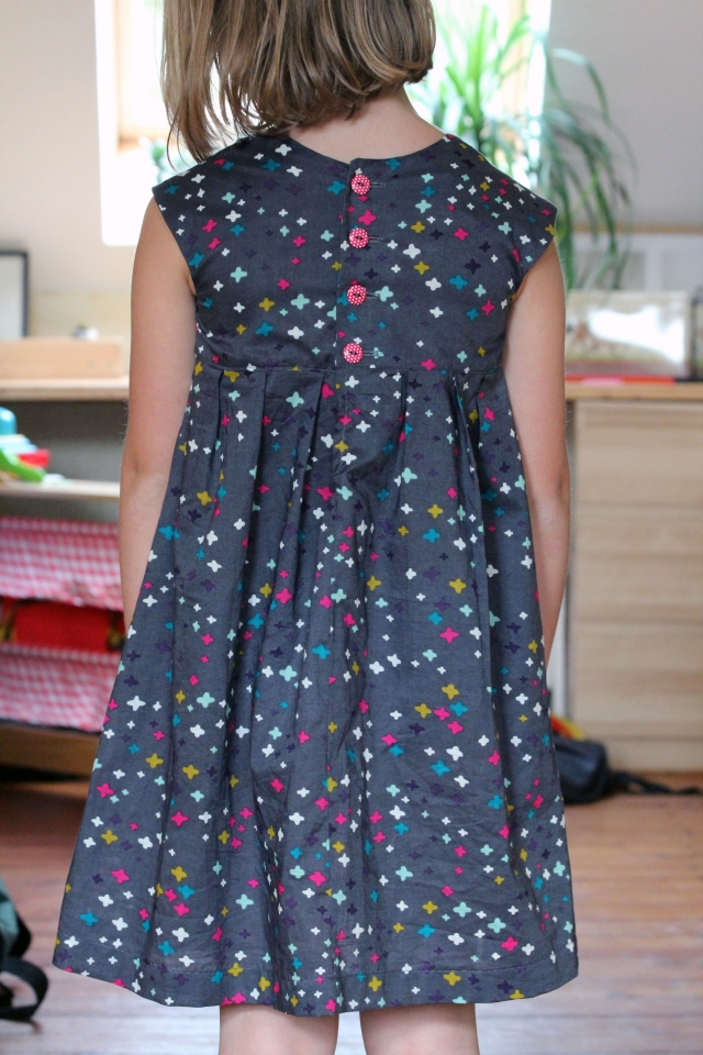 Schnittmuster kleid baumwolle madchen