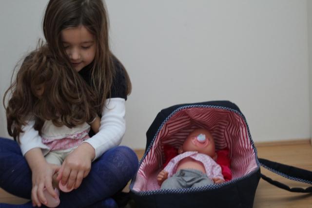 Eine Babytrage für den Familienfrieden   Das mach ich nachts