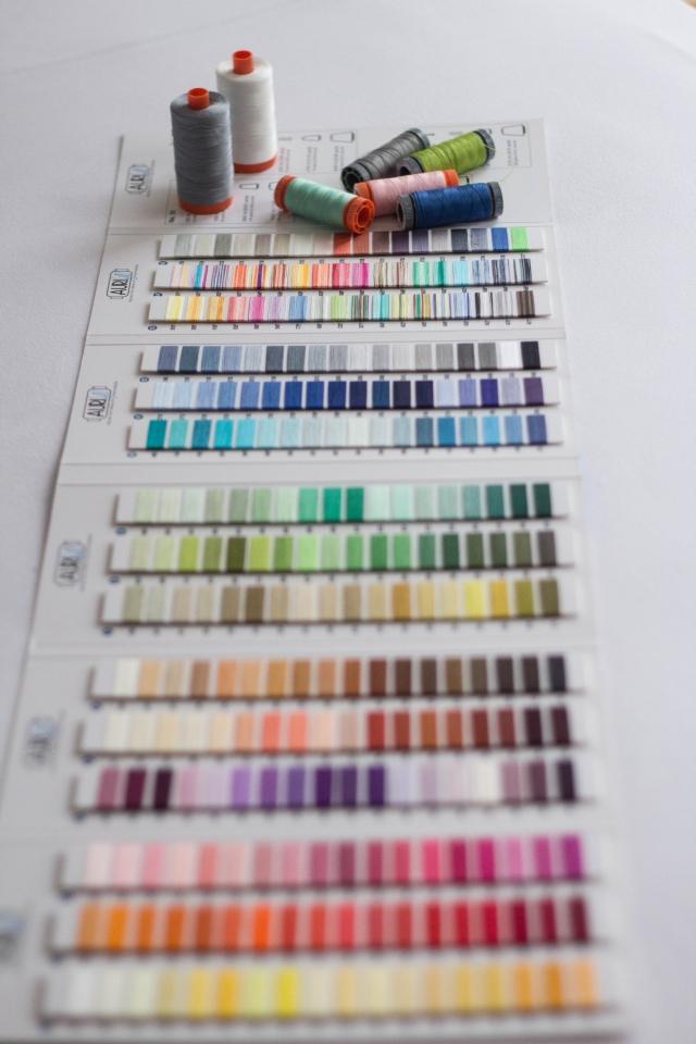 Farbkarte Aurifil