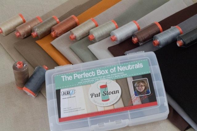 Neutrals Box Aurifil