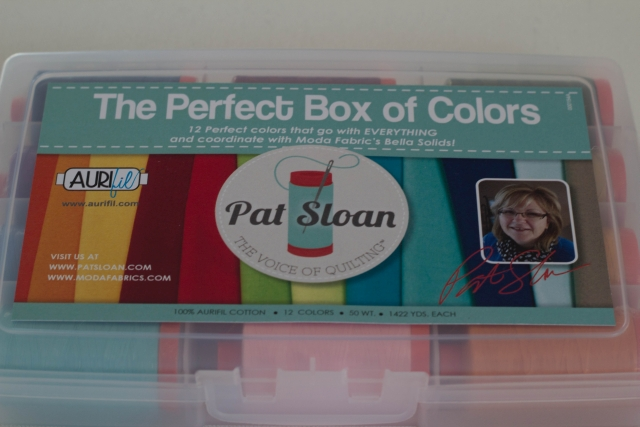 Pat Sloan Aurifil Box