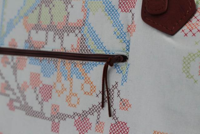 Tasche Arya Machwerk Reissverschluss vorne zu