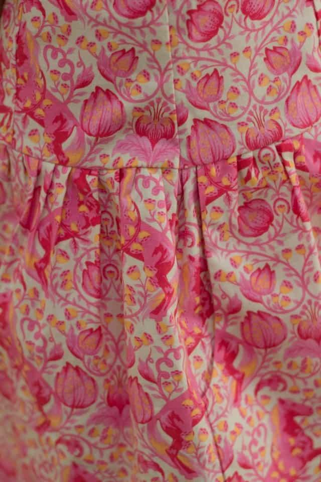 Kleid Detail Tasche