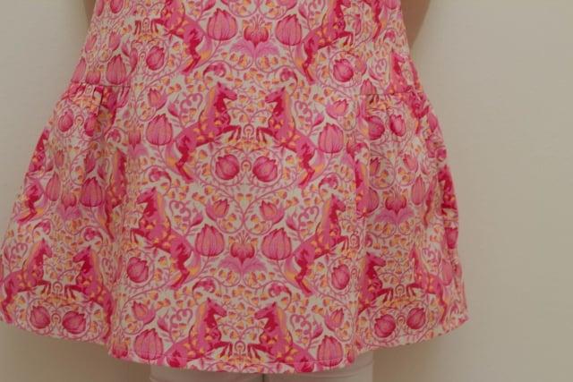 Kleid Unterteil vorne