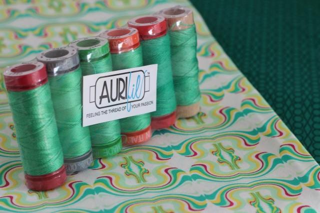 Aurifil grün