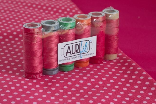Aurifil pink