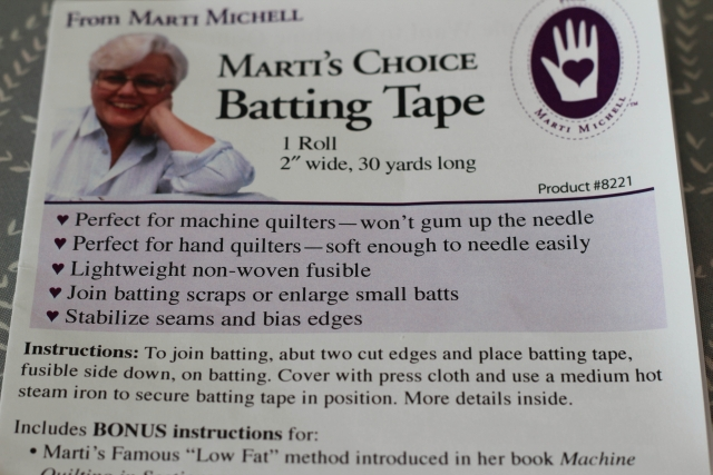 Marti Michell Batting Tape
