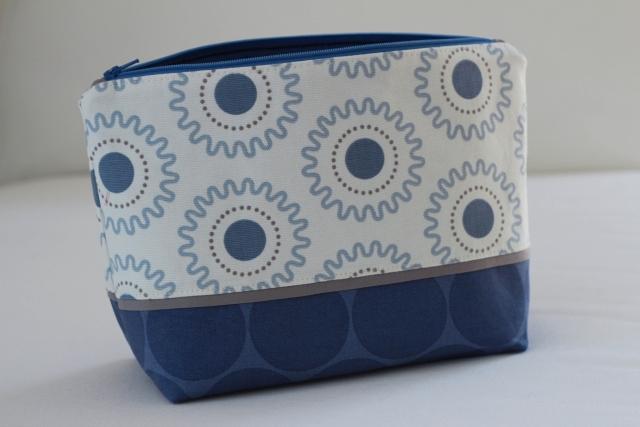 Tasche blau_