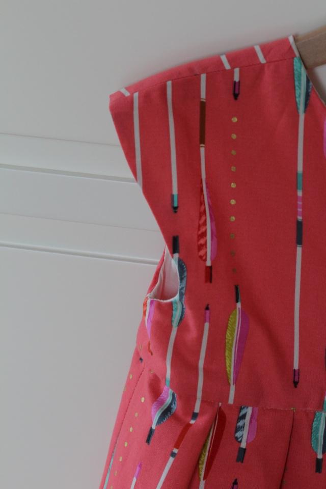 Ärmel Geranium Dress