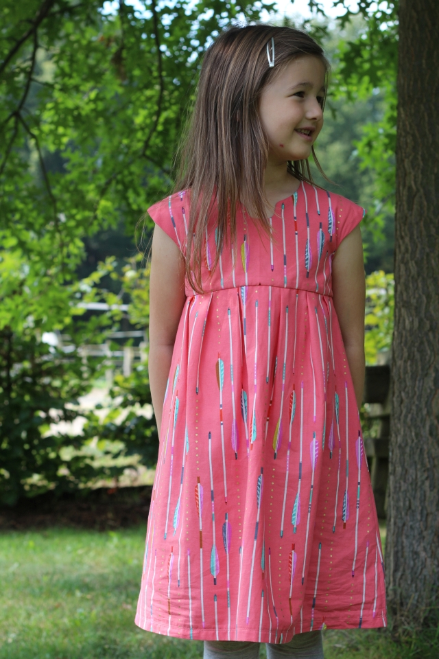 Geranium Dress getragen