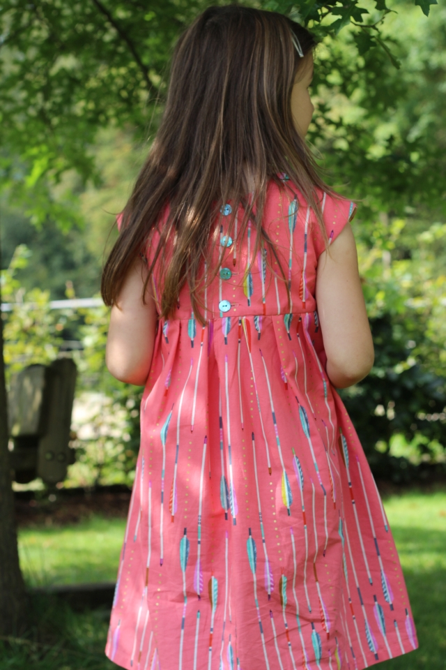 Geranium Dress hinten