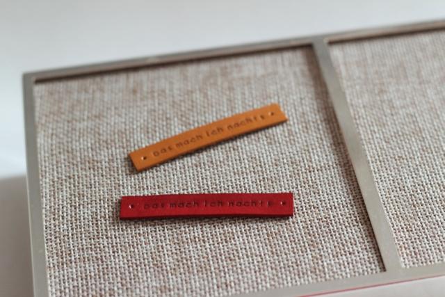 Label cocosheaven rot und gelb_