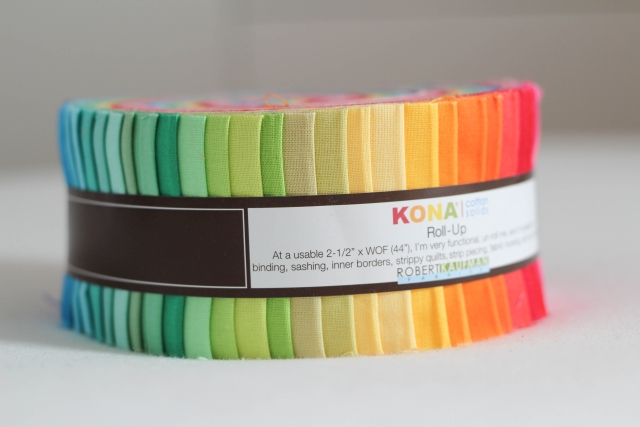 Jelly Roll Kona Cotton