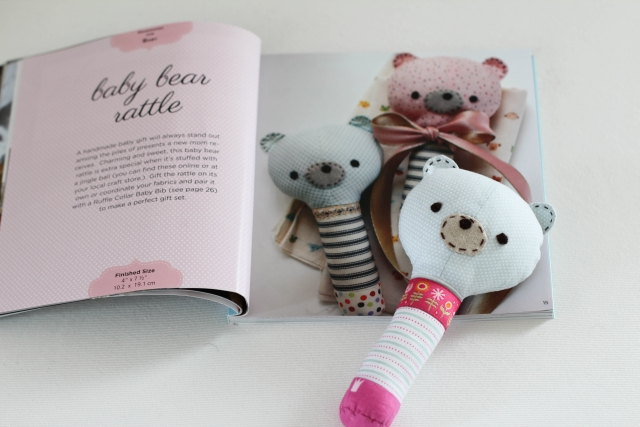 Baby Bear Rattle blue