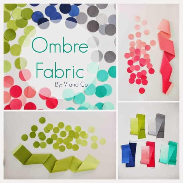 Moda Ombre Gradient Fabric V and Co