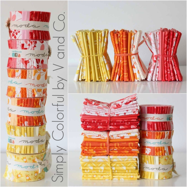 Simply colorful moda fabrics v and co header