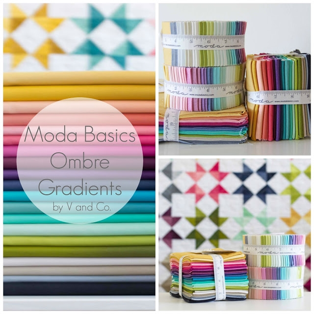 collage ombre basics with text