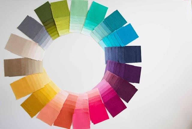 ombre gradient wheel