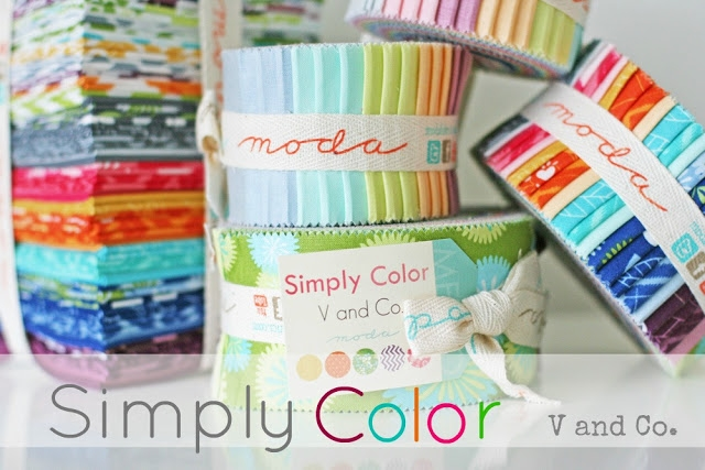 simply color V and Co header