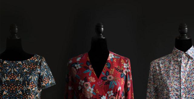 Les Fleurs Cotton +Steel