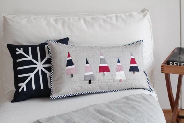vier jahreszeiten vier stoffpakete und zwei kissen f r den winter. Black Bedroom Furniture Sets. Home Design Ideas